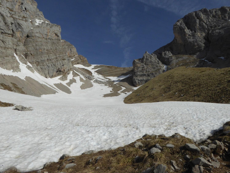 neige de printemps à partir de 1900m - col du Rasoir- Jalouvre