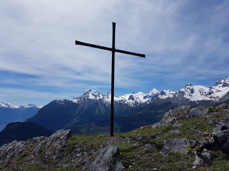 Croix des Ancillons, sous le Pt 1747m