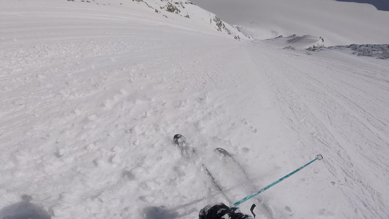 Un bonheur à skier