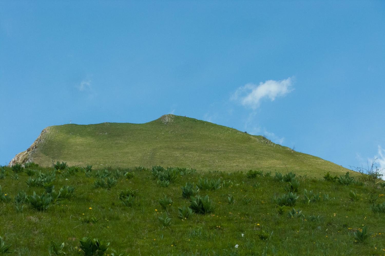 Pointe de la Galoppaz depuis la petite soeur