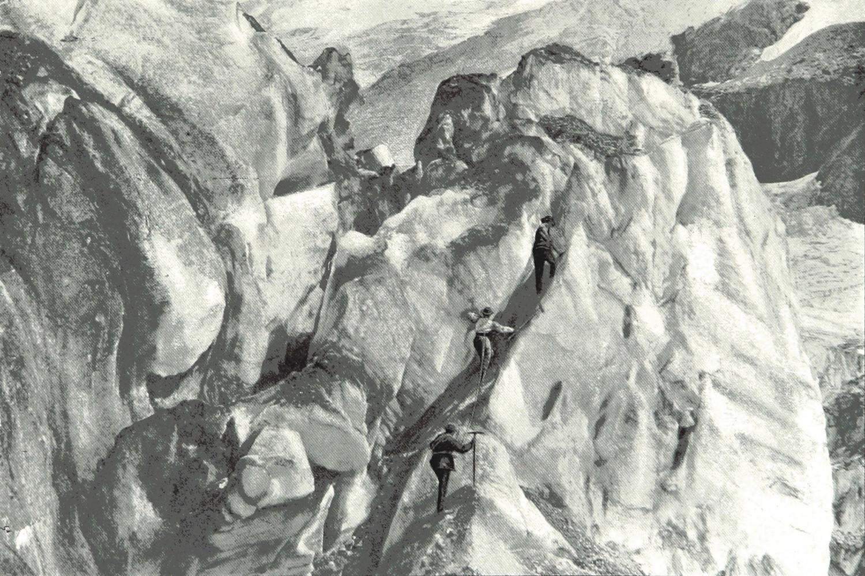 Ascension de Sérac par Theodor Wundt