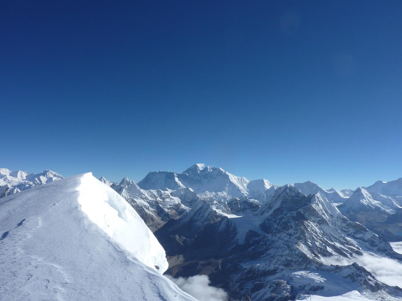L'Everest...vue du Mera Peak
