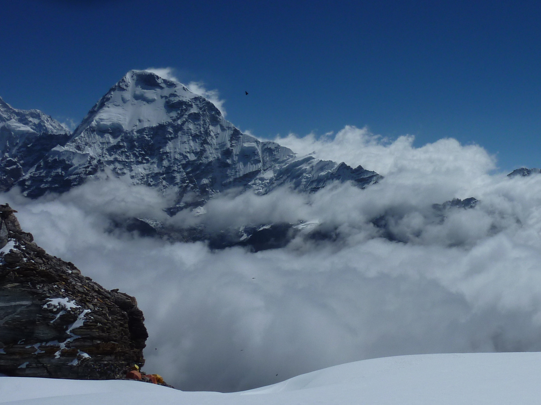 De retour au High Camp du Mera Peak