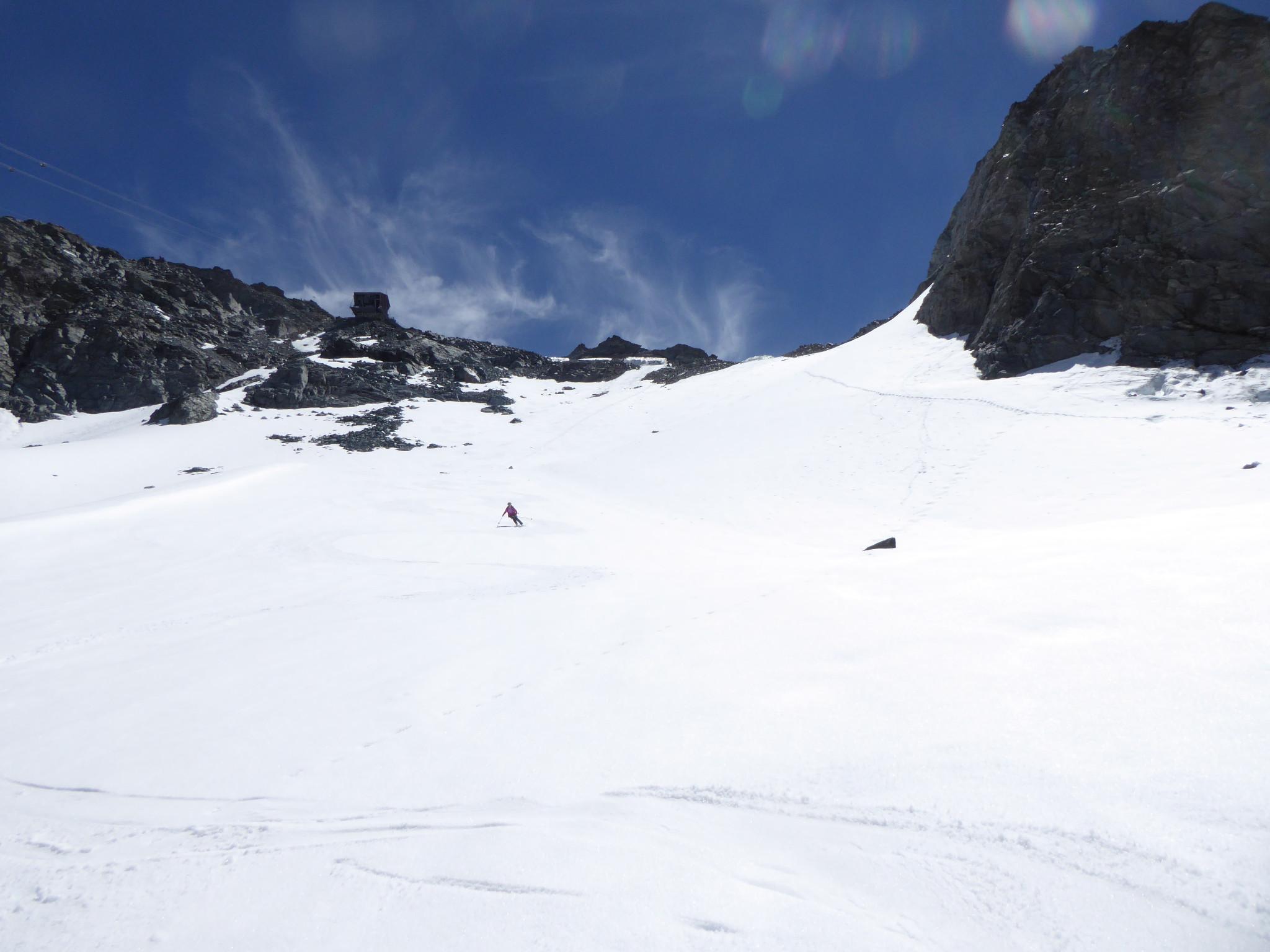 Mont Fort : Versant WNW, voie normale, piste de ski... - Camptocamp.org
