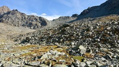 Col Garin versant vallon d'Arbolle