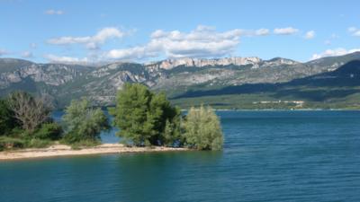 Le lac de Sainte Croix (crédit photo : Stéfano Blanc)
