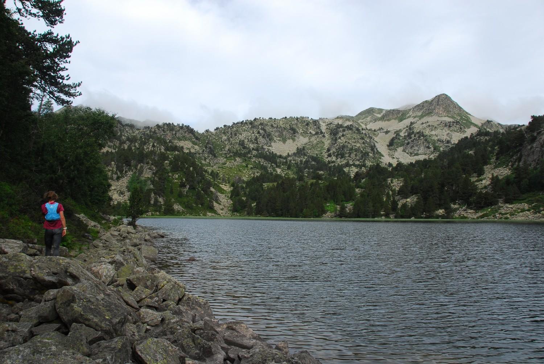 Vorejant l'estany de Rosari d'Àrreu