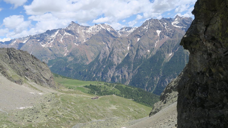 Cono Rovesciato - panorama depuis R1