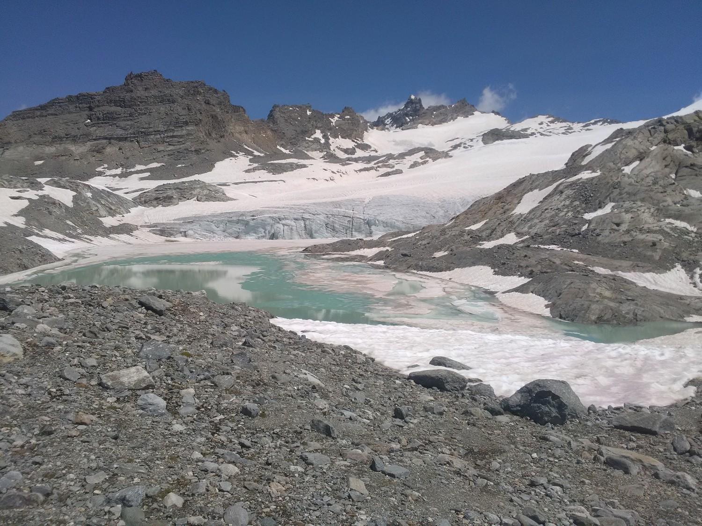 Lac et Glacier du Grand Méan