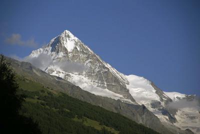 Dent Blanche (4357 m) depuis Les Haudères
