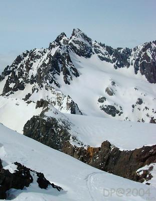 Montagne des Agneaux : face SE