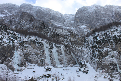 Tamar : icefalls