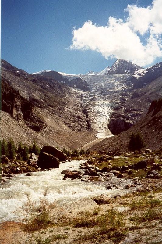 Nadelgrat et Ried Gletscher
